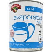 Hannaford Evaporated Skim Milk