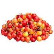 Organic Rainier Cherries Package