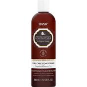 HASK Curl Care Conditioner, Coconut Milk & Organic Honey