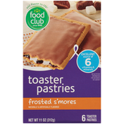 Food Club Frosted S'Mores Toaster Pastries