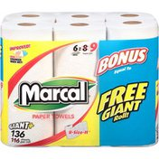 Marcal® 2-Ply Giant Roll 136 ct Paper Towels