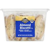 First Street Almond Biscotti