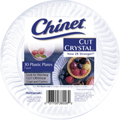 Chinet 7 in. Plastic Plates