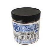 Nutty Novelties Gourmet All Natural Cinnamon Almond Butter