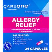 CareOne Allergy Relief Antihistamine Capsules