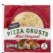 Signature Kitchens Pizza Crusts, Original, Mini