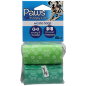 Paws Happy Life Pets Waste Bags Refill
