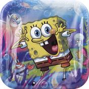 DesignWare Plates, SpongeBob Epic, 7 Inch