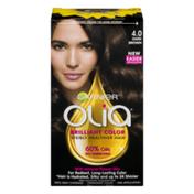 Garnier Olia Brilliant Color Visibly Healthier Hair 4.0 Dark Brown