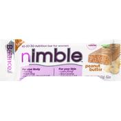 Balance Bar Nutrition Bar, For Women, Peanut Butter