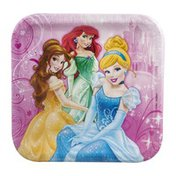 "DesignWare Plates Princess Sparkle 9"" - 8 CT"