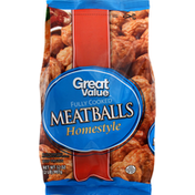 Great Value Meatballs, Fully Cooked, Homestyle