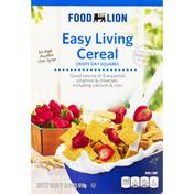 Food Lion Cereal, Crispy, Oat Squares, Easy Living