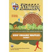 Honey Stinger Waffles, Organic, Kids', Honey