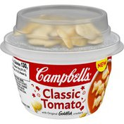 Campbell's® tomato soup with topping