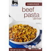 Food Lion Pasta, Beef, Hamburger, Dinner, Box