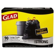 Glad Extra Strong Large Trash Drawstring Bags
