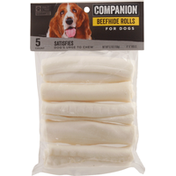 Companion Beefhide Rolls, For Dogs