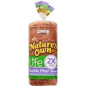 Nature's Own Double Fiber Wheat Bread