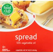 Food Club Spread, 53% Vegetable Oil