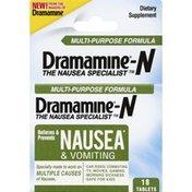 Dramamine N, Tablets