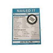 Knock Knock Nailed It Nifty Note Pad