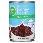 Food Club Low Sodium Dark Red Kidney Beans