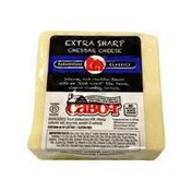 Cabot 3 Year Cheddar Cheese