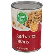 Food Club Garbanzo Beans