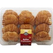 First Street Croissants, Butter, Petite