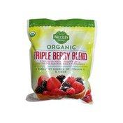 Wellsley Farms Triple Berry Whole Strawberries, Blackberries, Raspberries Organic Blend