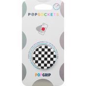 PopSockets Popgrip, Checker Black