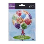 "Anagram Foil Balloon 18"" Happy Birthday Fun"