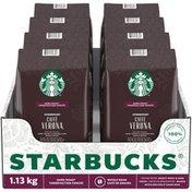 Starbucks Caffe Verona Dark Roast Whole Bean Coffee