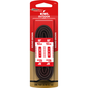 Kiwi Outdoor Laces, Round Brown, 60 Inches