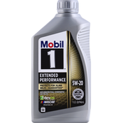 Mobil Motor Oil, Advanced Full Synthetic, 5W-20, Extended Performance