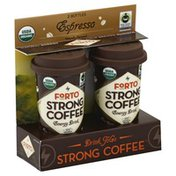 Forto Energy Drink, Strong Coffee, Espresso, Drink to Go