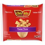 Ore-Ida Tater Tots Seasoned Shredded Frozen Potatoes Value Size