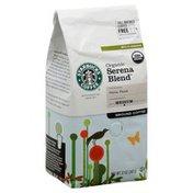 Starbucks Coffee, Ground, Medium, Organic Serena Blend