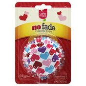 Cake Mate Baking Cups, No Fade, Valentine, Standard Size