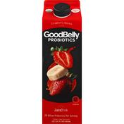GoodBelly Juice Drink, Strawberry Banana