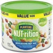 Planters Wholesome Value Size Nut Mix with Cashews, Almonds, Macadamias & Sea Salt