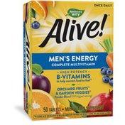Nature's Way Alive!® Men's Energy Complete Multivitamin