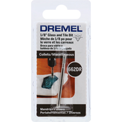 Dremel Glass and Tile Bit, 1/8 inch