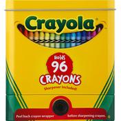 Crayola Tin, Crayon