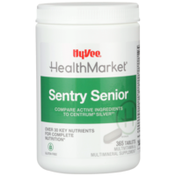 Hy-Vee Healthmarket, Sentry Senior Over 30 Key Nutrients For Complete Nutrition Multivitamin & Multimineral Supplement Tablets