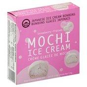 Mt Fuji Ice Cream, Mochi, Strawberry