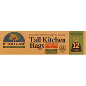 If You Care Tall Kitchen Bags, 13 Gallon