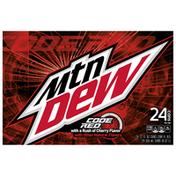 Mtn Dew Code Red Soda