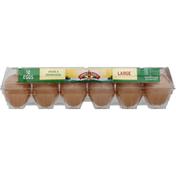 Land O Lakes Eggs, Brown, Large